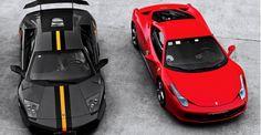 Ferrari ile Lamborghini'nin büyük kapışması