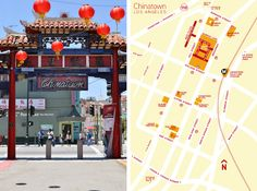Chinatown, Los Angeles. read more: http://www.inthecuriosity.com/2012/07/demystifying-chinatown-koreatown.html