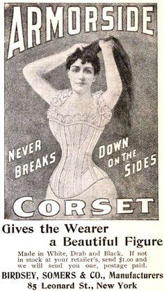 Armorside Corset 1896