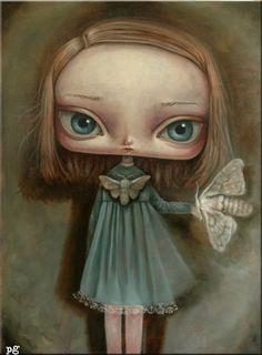 ghost in the machine - Sad Girls: Paintings by Paulina Gora