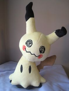 Mimikkyu Mimikyu Handmade Pokemon Plush *Made To Order* by GearCrafts on Etsy https://www.etsy.com/listing/473551349/mimikkyu-mimikyu-handmade-pokemon-plush
