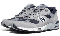New Balance 991 Made in USA | Grey & Navy