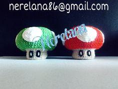 Setas Mario Bross!! Hechas a mano 100%, si quieres una solo has de escribirnos a nuestro email: nerelana86@gmail.com, animaos mandamos a toda España!!