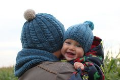 MORE COLORS Knit merino wool child toddler boy men hat by DewKnit