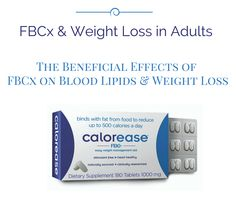 Without any diet or lifestyle changes, FBCx, the primary ingredient in calorease, induced weight loss, reduced atherogenic lipoproteins, and increased insulin sensitivity in healthy overweight individuals.