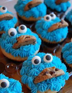 Sesame Street cake/cupcakes tutorial