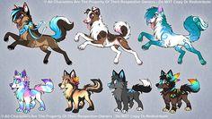 Custom Canines by Kawiku on DeviantArt