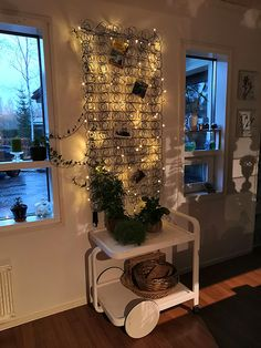 #tarjoiluvaunu #sängynjousi #ledvalo Christmas Tree, Led, Holiday Decor, Home Decor, Teal Christmas Tree, Room Decor, Xmas Trees, Christmas Trees, Home Interior Design