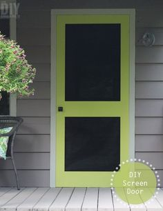 Can't Find a Screen Door You Like? Easily Build Your Own Instead!
