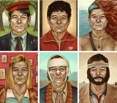Murray Time: Bill Murray as Various Wes Anderson Characters