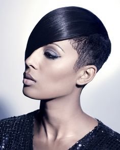 Edge Short Haircuts | African American Hairstyles Trends and Ideas