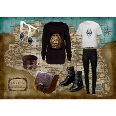"""skyrim set one"" by deann-yu on Polyvore"