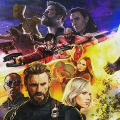 #infinitywar #avengersinfinitywar Avengers are back.