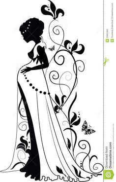 silhouette-pregnant-woman-23991960.jpg (830×1300)
