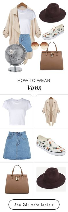 """""""Untitled #17"""" by oriasat on Polyvore featuring RE/DONE, Dolce&Gabbana, Vans and Linda Farrow"""