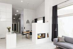 Tulisijat | TaloTalo | Rakentaminen | Remontointi | Sisustaminen | Suunnittelu | Saneeraus #tulisija #sisustus #moderni #fireplace #modern #decor #talotalo