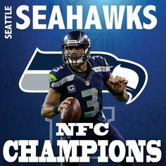 Seattle Seahawks - NFC Champions!!!!
