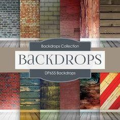 Backdrops Digital Paper DP655 - Digital Paper Shop - 1