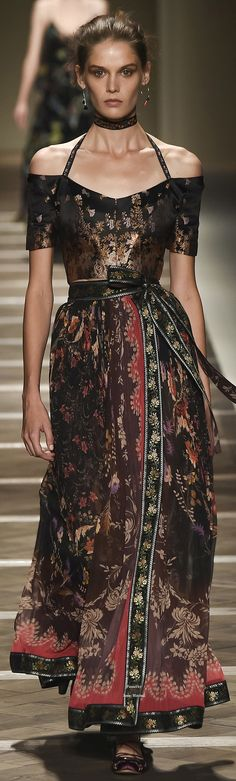 "Etro Collection Spring 2016 Ready-to-Wear ""And the LORD said to Moses, ""Go to the people and consecrate them today and tomorrow. Have them wash their clothes."" Exodus 19:10"