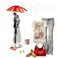 CHUVA! by dedebrito on Polyvore featuring AllSaints, Free People, Oasis, Reed Krakoff and Astley Clarke