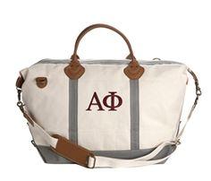 Alpha Phi Weekender Bag