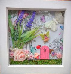 Hey, I Found This Really Awesome Etsy Listing At  Https://www.etsy.com/uk/listing/450940958/fairy Door Scene Box Frame Fairy  Garden