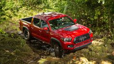2017 Toyota Tacoma TRD Pro First Drive: Midsize Mud Bogging In Toyotau0027s  Top Selling Compact Pickup