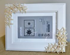 {DIY Tutorial} Starfish Picture Frame | A Blissful Nest