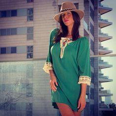 Green bohemian day