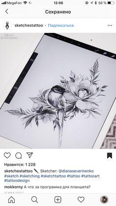 New swallow bird sketch ideas Body Art Tattoos, Wildlife Tattoo, Floral Drawing, Realistic Rose Tattoo, Floral Tattoo Design, Traditional Tattoo Art, Hip Tattoo, Anklet Tattoos, Beautiful Tattoos