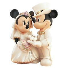 Disney Wedding Cake Topper <3