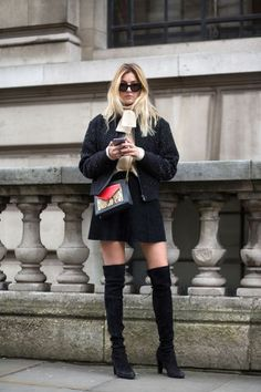 Camille Charriere. See the best street style looks at London Fashion Week right here: