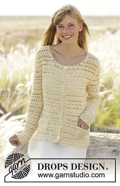 Ravelry: 170-31 Daniella Jacket pattern by DROPS design