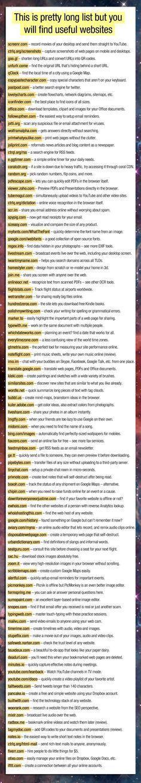 Amazing list of useful websites. - Imgur