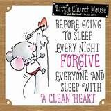 little church mouse quotes - before you go to bed every night - - Yahoo Image Search Results