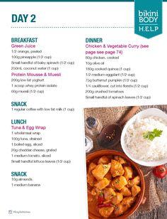 Push nutrition guide number 5976825782 for effective healthy eat knowledge. Kayla Itsines Meal Plan, Bbg Diet, Chicken Vegetable Curry, Post Workout Food, Breakfast For Dinner, Nutrition Guide, How To Cook Quinoa, Eating Plans, Meal Planning