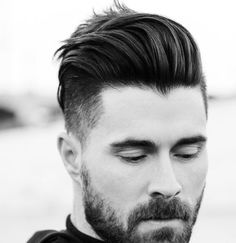 Short Hairstyles Shaved Sides For Men