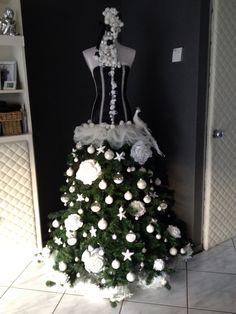 Kerst boom jurk