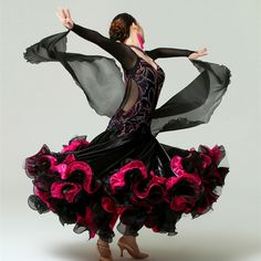 Ballroom Dance Dresses, Ballroom Dancing, Female Dancers, Tango Dress, Dance Outfits, Dance Wear, Competition, Stage, How To Wear