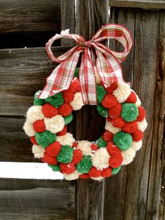 Christmas Wreath Old Fashion Christmas Wreath by thechicadeeshop, $120.00