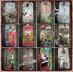 Tim Holtz' 12 Tags of Christmas