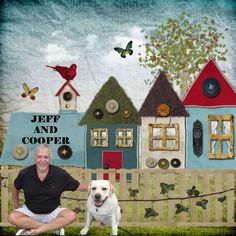 Jeff and Cooper | Digital Scrapbooking at Scrapbook Flair