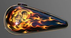 motorcycles with skulls and flames | FireSkullTank(TFTM)1.jpg