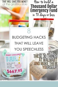 Here are some amazing ways to save money and live a frugal lifestyle. Check out the list below of 8 budgeting hacks that will leave you speechless.