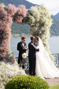 This Wedding in Lake Como Was Inspired by the Couple's Russian Heritage—And Burning Man Lilac Wedding, Chic Wedding, Floral Wedding, Wedding Ceremony, Dream Wedding, Wedding Decor, Reception, Russian Wedding, French Wedding