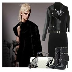 """DARK"" by tiziana-melera ❤ liked on Polyvore featuring Christopher Kane"