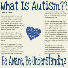Be Aware, Be Understanding, Autism~