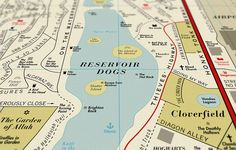 Infographic: A Street Map Of Famous Places In The Movies | Co.Design: business + innovation + design