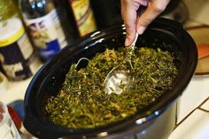 How To Make Cannabis Oil In Your Slow Cooker not for curing cancer