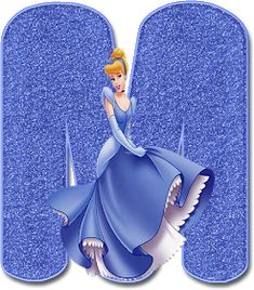 Alphabet Letters Design, Alphabet Art, Letter Art, Monogram Letters, Tiana Disney, Cinderella Disney, Cinderella Party, Disneyland Princess, Disney Princess Birthday Party